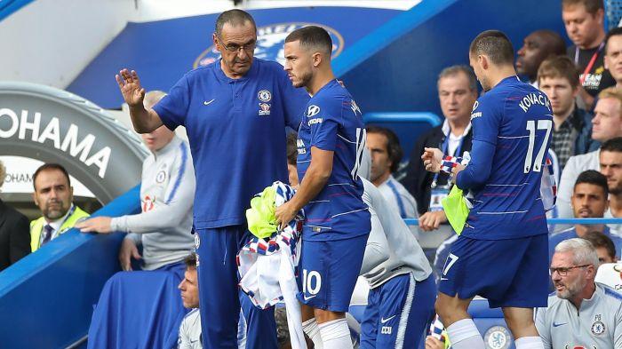 Sarri Persilahkan Hazard Hengkang