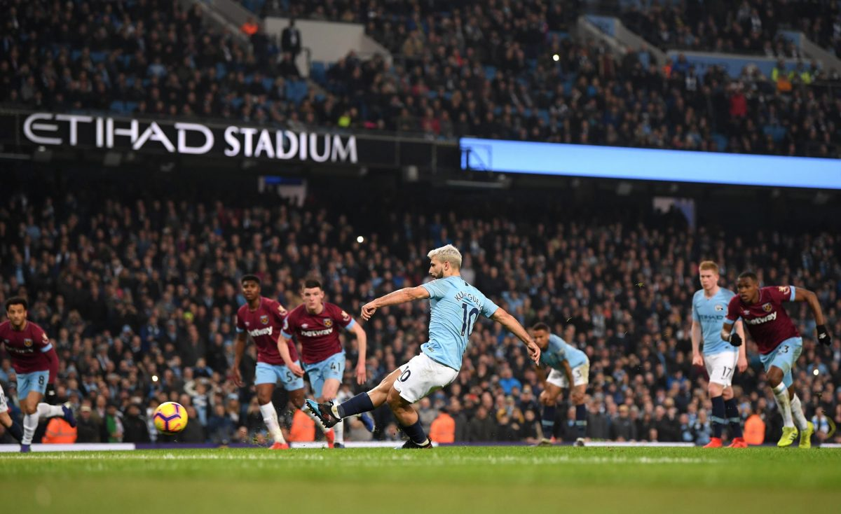 Manchester City Susah Payah Taklukkan West Ham