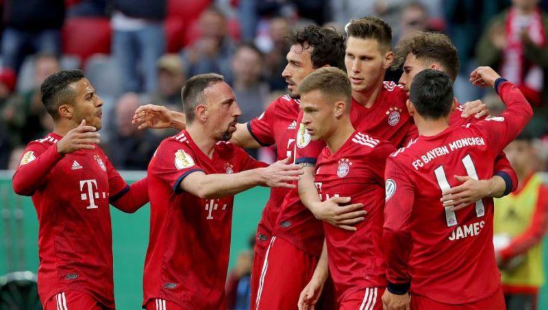 Menang Telak, Bayern Gusur Dortmund Dari Puncak Klasemen