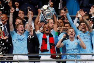 Man City Juarai Piala FA, Sterling:Ini Musim Yang Sempurna