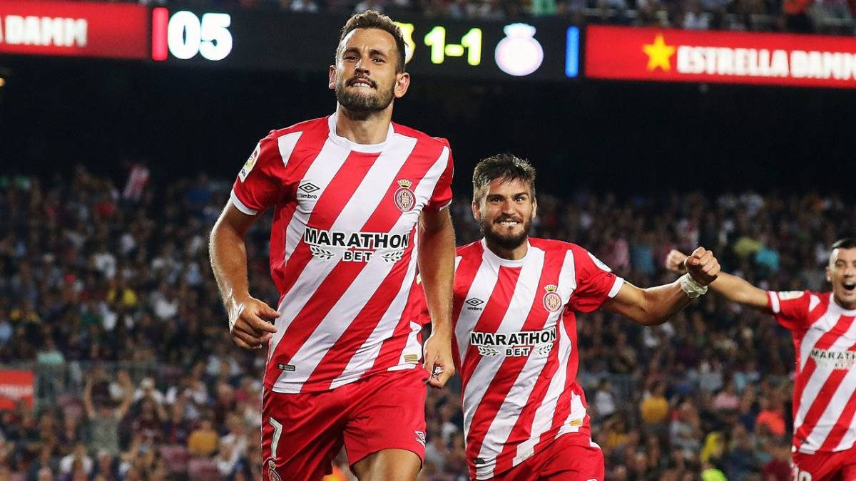 Suarez Sedang Cedera, Barcelona Melirik Bomber Dari Girona