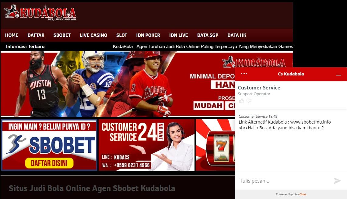 Kudabola Situs Taruhan Judi Online Kualitas Terbaik